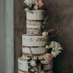Naked Three-tier Cake $250