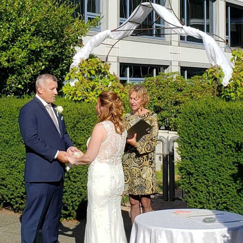 Ceremony at the Fairmont Waterfront